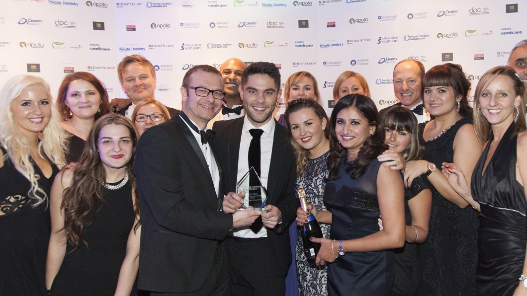 WINNER 2014 – Private Dentistry Awards – Best Team Less than 20 Employees – SOUTH