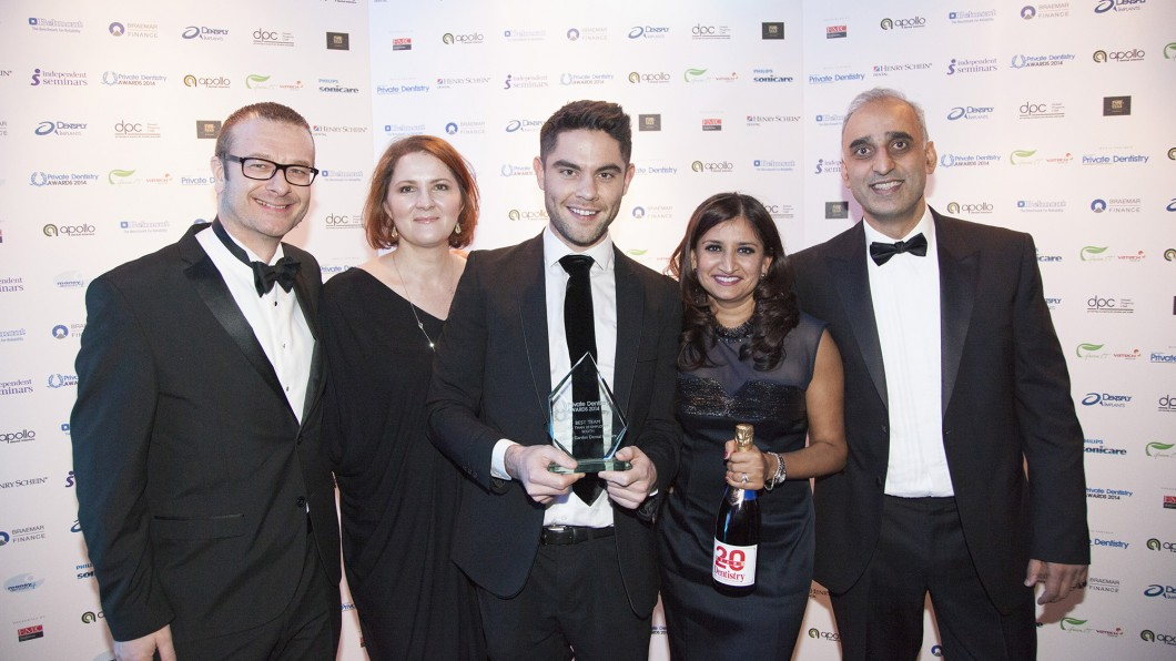 WINNER 2014 – Private Dentistry Awards – Best Patient Care – SOUTH