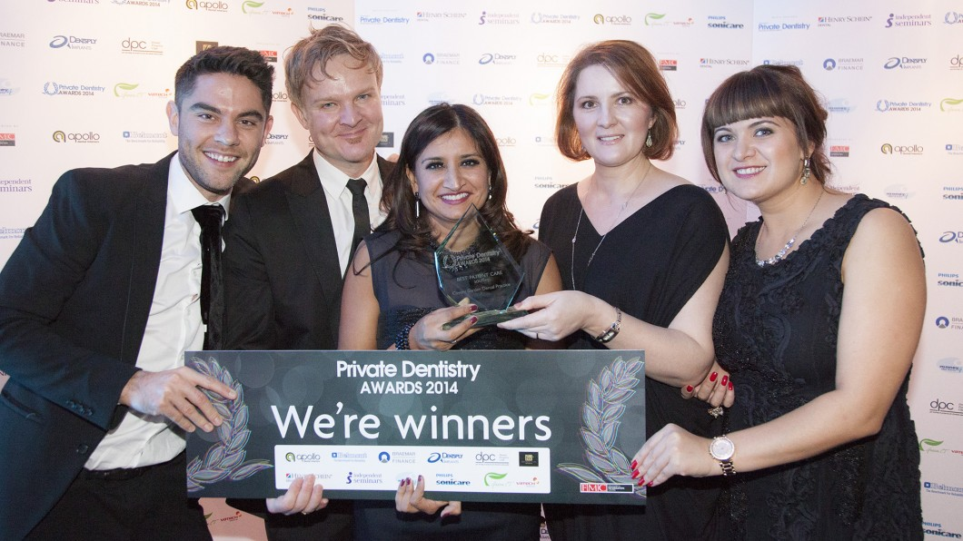 WINNER 2014 – Private Dentistry Awards – Practice of the Year 2014