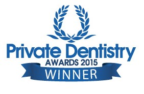 Winner Private Dentistry Awards 2015