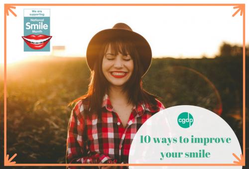 10 ways to improve your smile