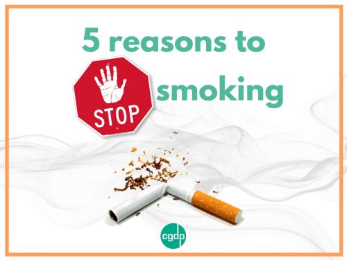 5 reasons to stop smoking
