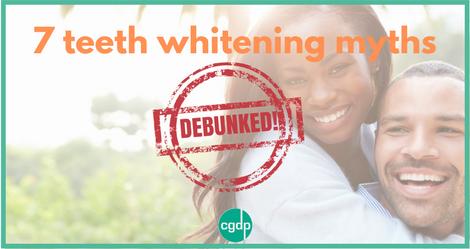 7 teeth whitening myths debunked